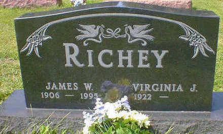 RICHEY, JAMES W. - Cerro Gordo County, Iowa   JAMES W. RICHEY