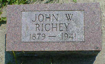 RICHEY, JOHN W. - Cerro Gordo County, Iowa | JOHN W. RICHEY