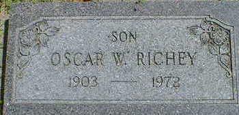 RICHEY, OSCAR W. - Cerro Gordo County, Iowa | OSCAR W. RICHEY