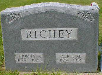 RICHEY, ALICE M. - Cerro Gordo County, Iowa | ALICE M. RICHEY