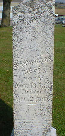 RIGGS, WASHINGTON - Cerro Gordo County, Iowa | WASHINGTON RIGGS