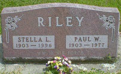 RILEY, PAUL W. - Cerro Gordo County, Iowa | PAUL W. RILEY