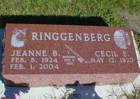 RINGGENBERG, CECIL E. - Cerro Gordo County, Iowa   CECIL E. RINGGENBERG