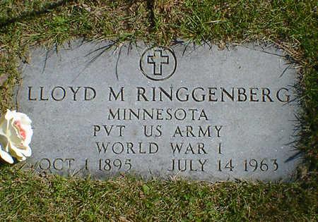RINGGENBERG, LLOYD M. - Cerro Gordo County, Iowa   LLOYD M. RINGGENBERG