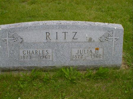 RITZ, JULIA D. - Cerro Gordo County, Iowa | JULIA D. RITZ