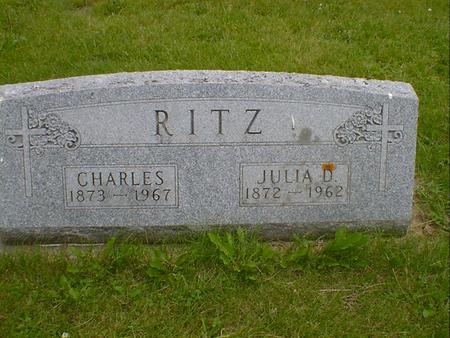 RITZ, CHARLES - Cerro Gordo County, Iowa | CHARLES RITZ