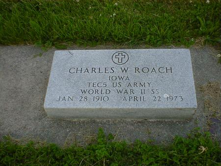 ROACH, CHARLES W. - Cerro Gordo County, Iowa | CHARLES W. ROACH