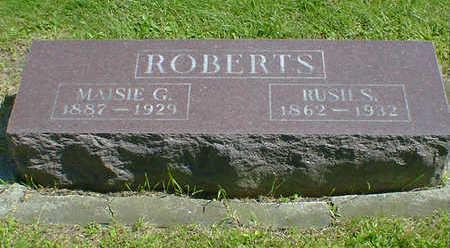 ROBERTS ., RUSH S. - Cerro Gordo County, Iowa | RUSH S. ROBERTS .