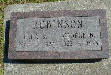 ROBINSON, GEORGE B. - Cerro Gordo County, Iowa | GEORGE B. ROBINSON
