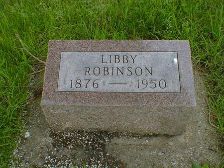 ROBINSON, LIBBY - Cerro Gordo County, Iowa | LIBBY ROBINSON