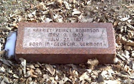 PEIRCE ROBINSON, MARRIET - Cerro Gordo County, Iowa | MARRIET PEIRCE ROBINSON