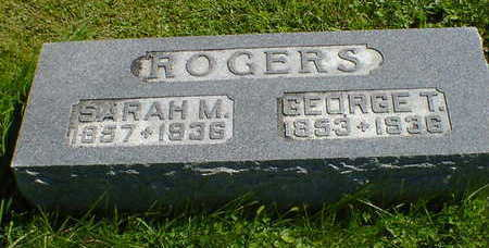 ROGERS, SARAH M. - Cerro Gordo County, Iowa | SARAH M. ROGERS