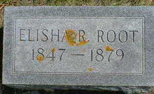 ROOT, ELISHA R. - Cerro Gordo County, Iowa | ELISHA R. ROOT