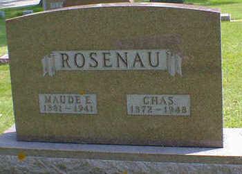 ROSENAU, MAUDE E. - Cerro Gordo County, Iowa | MAUDE E. ROSENAU