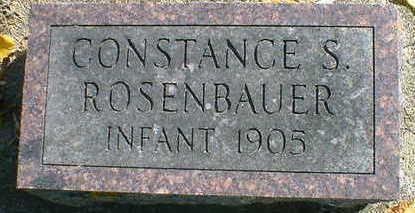 ROSENBAUER, CONSTANCE S. - Cerro Gordo County, Iowa   CONSTANCE S. ROSENBAUER