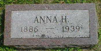 ROSS, ANNA H. - Cerro Gordo County, Iowa | ANNA H. ROSS