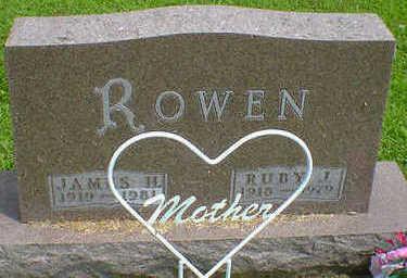 ROWAN, RUBY J. - Cerro Gordo County, Iowa | RUBY J. ROWAN