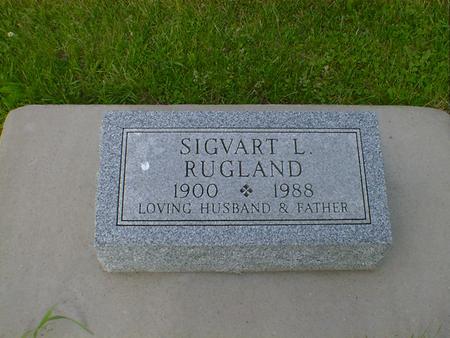 RUGLAND, SIGVART L. - Cerro Gordo County, Iowa   SIGVART L. RUGLAND