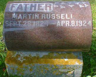 RUSSELL, MARTIN - Cerro Gordo County, Iowa   MARTIN RUSSELL