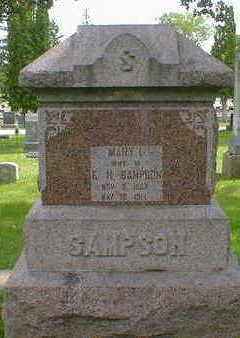 SAMPSON, MARY L. - Cerro Gordo County, Iowa   MARY L. SAMPSON