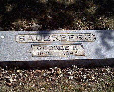 SAUERBERG, GEORGE - Cerro Gordo County, Iowa | GEORGE SAUERBERG