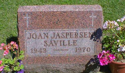 JASPERSEN SAVILLE, JOAN - Cerro Gordo County, Iowa | JOAN JASPERSEN SAVILLE