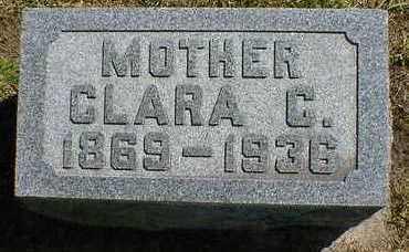SAWYER, CLARA C. - Cerro Gordo County, Iowa | CLARA C. SAWYER
