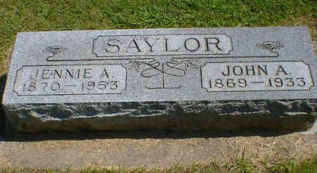 SAYLOR, JENNIE A. - Cerro Gordo County, Iowa | JENNIE A. SAYLOR