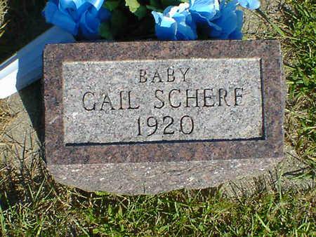 SCHERF, GAIL - Cerro Gordo County, Iowa | GAIL SCHERF