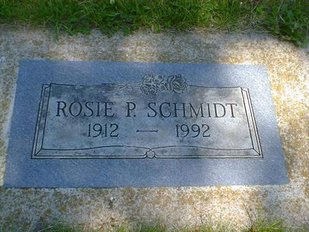 SCHMIDT, ROSIE P. - Cerro Gordo County, Iowa | ROSIE P. SCHMIDT