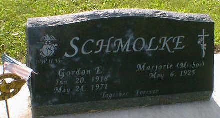 SCHMOLKE, GORDON E. - Cerro Gordo County, Iowa   GORDON E. SCHMOLKE