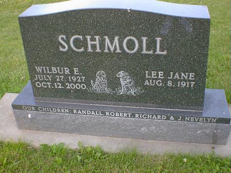 SCHMOLL, WILBUR E. - Cerro Gordo County, Iowa | WILBUR E. SCHMOLL