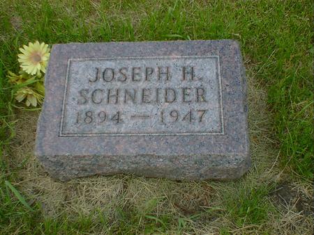 SCHNEIDER, JOSEPH H. - Cerro Gordo County, Iowa | JOSEPH H. SCHNEIDER
