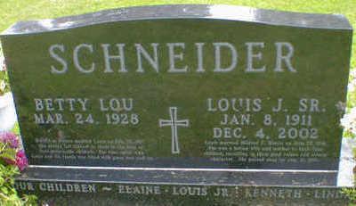 SCHNEIDER, LOUIS J. SR. - Cerro Gordo County, Iowa | LOUIS J. SR. SCHNEIDER