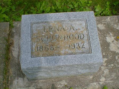 SCHONHOOD, LENA A. - Cerro Gordo County, Iowa | LENA A. SCHONHOOD