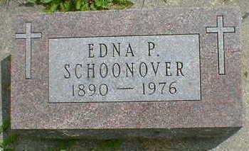 SCHOONOVER, EDNA P. - Cerro Gordo County, Iowa | EDNA P. SCHOONOVER