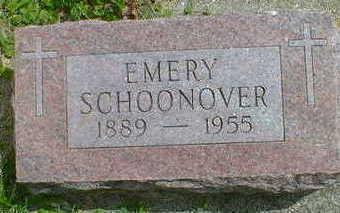 SCHOONOVER, EMERY - Cerro Gordo County, Iowa | EMERY SCHOONOVER
