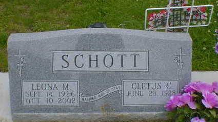 SCHOTT, LEONA M. (WOLF) - Cerro Gordo County, Iowa | LEONA M. (WOLF) SCHOTT