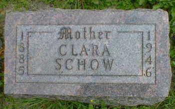 SCHOW, CLARA - Cerro Gordo County, Iowa | CLARA SCHOW