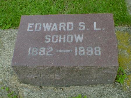 SCHOW, EDWARD L - Cerro Gordo County, Iowa | EDWARD L SCHOW