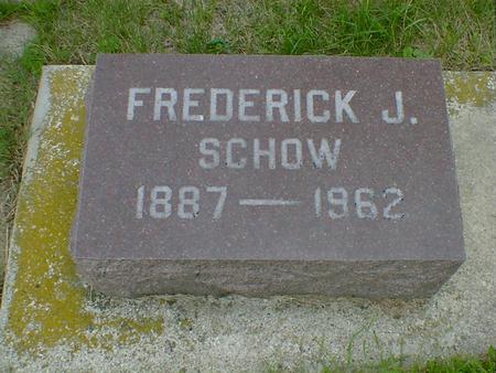SCHOW, FREDERICK J. - Cerro Gordo County, Iowa | FREDERICK J. SCHOW