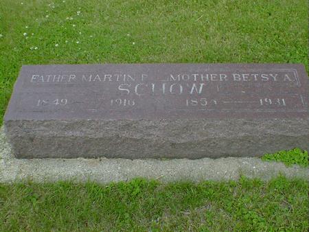 SCHOW, MARTIN P. - Cerro Gordo County, Iowa | MARTIN P. SCHOW