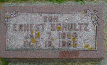 SCHULTZ, ERNEST - Cerro Gordo County, Iowa | ERNEST SCHULTZ