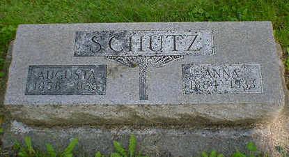 SCHUTZ, ANNA - Cerro Gordo County, Iowa | ANNA SCHUTZ