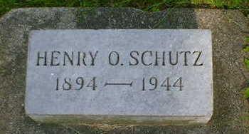 SCHUTZ, HENRY O. - Cerro Gordo County, Iowa   HENRY O. SCHUTZ
