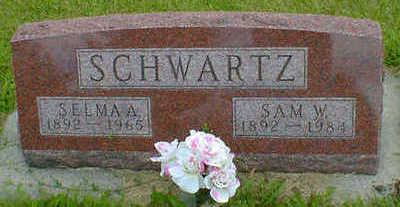 SCHWARTZ, SAM W. - Cerro Gordo County, Iowa | SAM W. SCHWARTZ