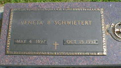 SCHWIERTERT, VENETA B. - Cerro Gordo County, Iowa | VENETA B. SCHWIERTERT