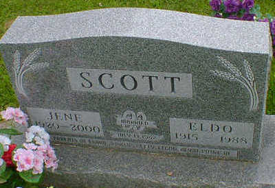 SCOTT, ELDO E. - Cerro Gordo County, Iowa | ELDO E. SCOTT