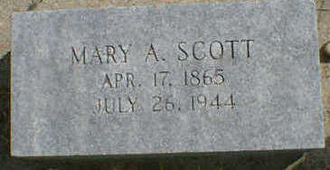 SCOTT, MARY A. - Cerro Gordo County, Iowa | MARY A. SCOTT