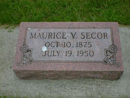 SECOR, MAURICE V. - Cerro Gordo County, Iowa | MAURICE V. SECOR